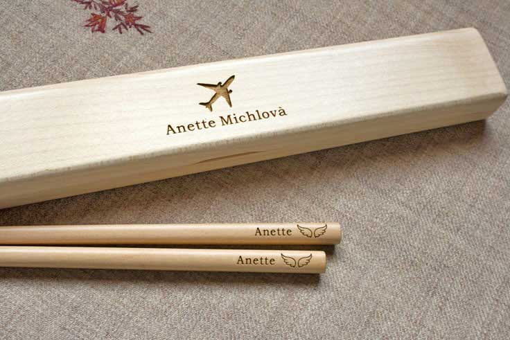 Personalized Chopsticks Custom Engraved Chopsticks