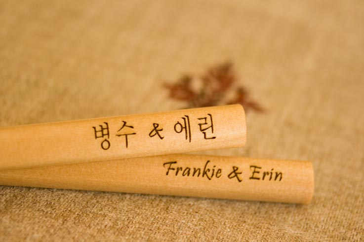 Engrave Foreign Names