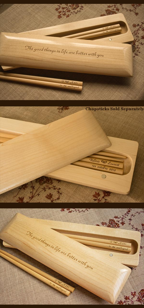 chopstick box for two