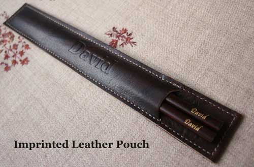 chopstick leather case
