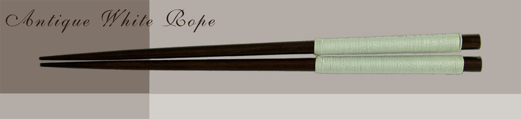antique white rope custom chopsticks